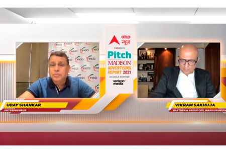 What the future holds for the Indian media industry – Hear Mr. Uday Shankar at the Pitch Madison Ad Report 2021