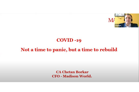 Interview: COVID-19 – Not a time to Panic but a time to rebuild