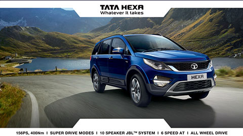 TATA HEXA - Whatever it takes
