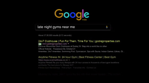 Godrej Late Night Searches