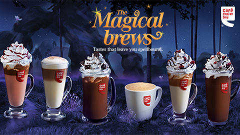 Launch of Café Coffee Days winter menu - Magical Brews